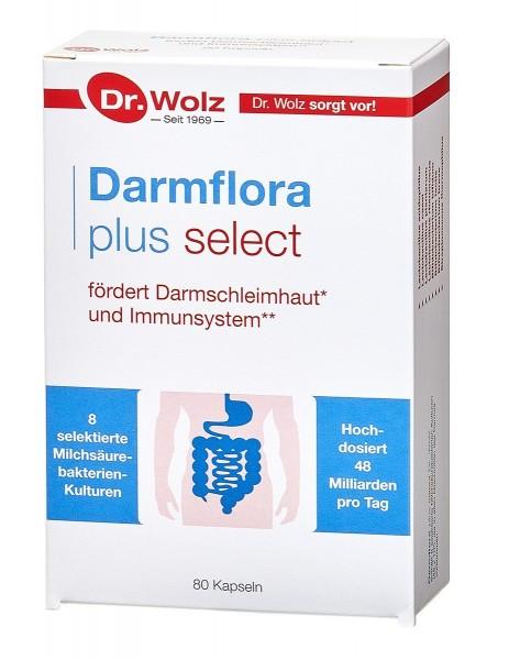 Dr. Wolz - Darmflora plus select (80 Kapseln)