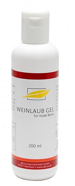 Allcura - Rotes Weinlaub Gel (200 ml)