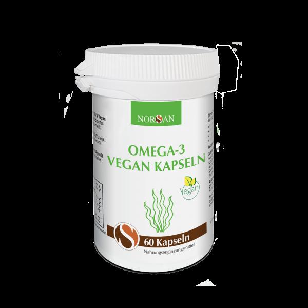 Norsan -  Omega-3 Vegan Kapseln (60 Stück)