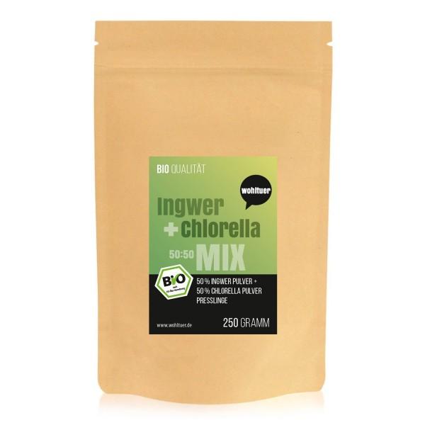 Wohltuer - Bio Ingwer+Chlorella Mix