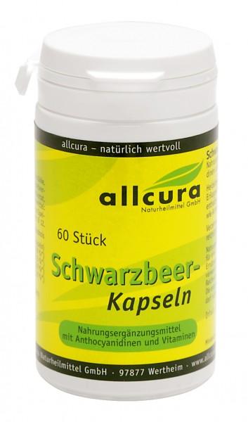 Allcura - Schwarzbeer Kapseln (60 Stück)