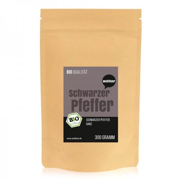 Wohltuer - Bio Schwarzer Pfeffer, ganz (300 g)