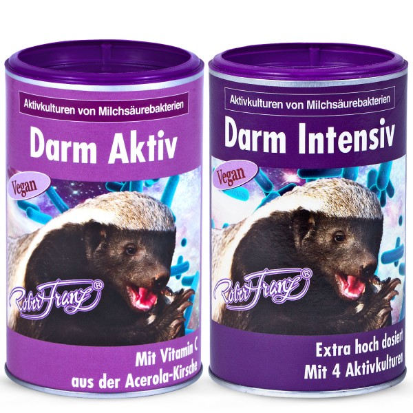Robert Franz - Set Darm Aktiv Vegan (200g) + Darm Intensiv Vegan