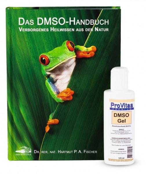 Mix Set: ProVitas - DMSO Gel (125 ml) & Das DMSO-Handbuch: Verborgenes Heilwissen aus der Natur