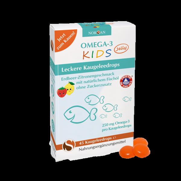 Norsan - Omega-3 KIDS Jelly (45 Stück)