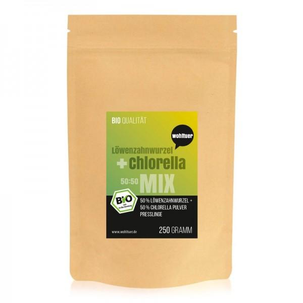 Wohltuer - Löwenzahnwurzel + Chlorella Mix (250 g)