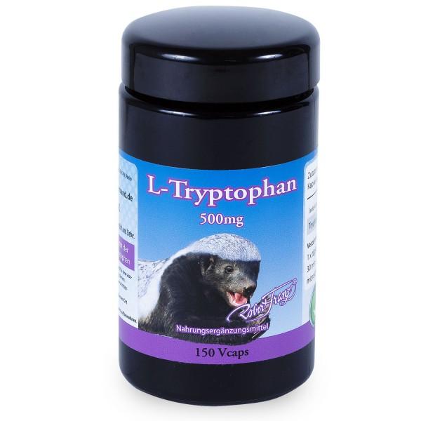 Robert Franz - L-Tryptophan 500mg (140 Vegiecaps)