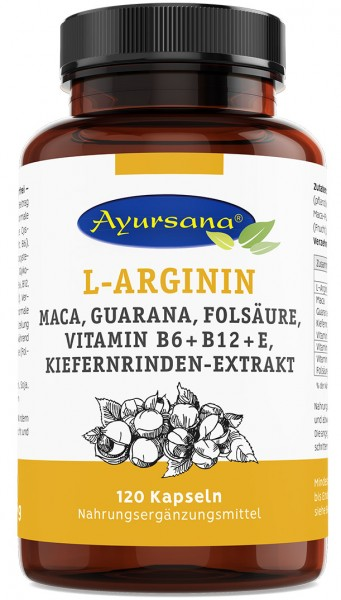 Ayursana - L-Argininkapseln (120 Stück)