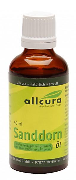 Allcura - Sanddornöl (50 ml)