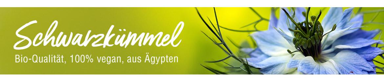 Schwarzkümmel - Bio-Qualität, 100% vegan, aus Ägypten