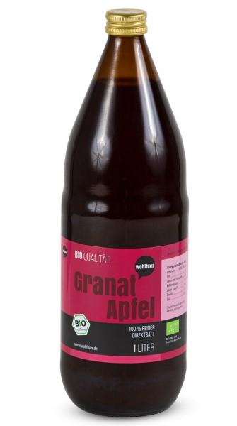 Wohltuer -  Bio Granatapfel Saft (1 L)