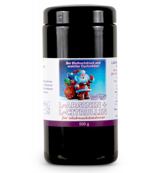 Robert Franz - L-Arginin / L-Citrullin Pulver (500 g)