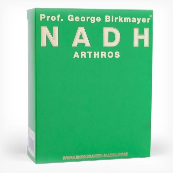 Prof. George Birkmayer - NADH - Arthros mit Glucosamin, Chondroitin und MSM (60 Kapseln)