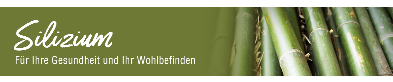 Organisches Silizium aus Bambus