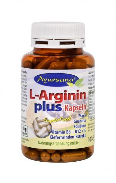 Ayursana - L-Argininkapseln plus (120 Stück)