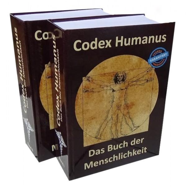Codex Humanus - Das Buch der Menschlichkeit  Band 1 und Band 2