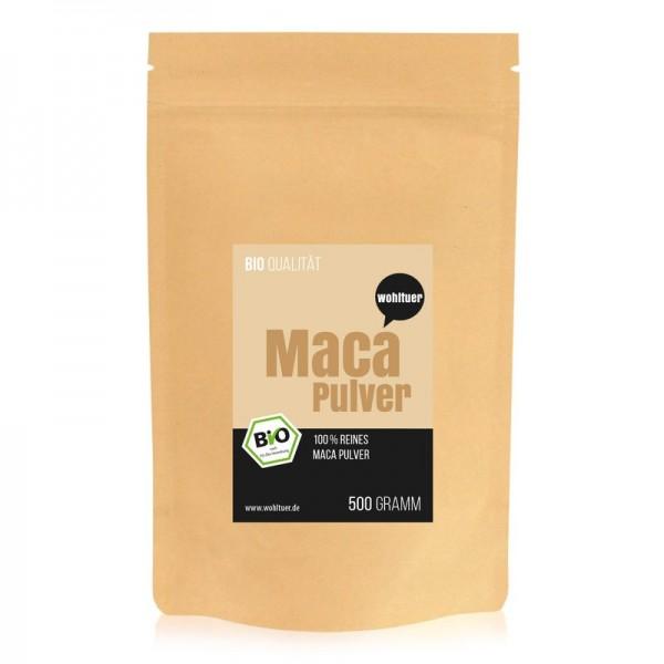 Wohltuer - Bio Macapulver (500 g)