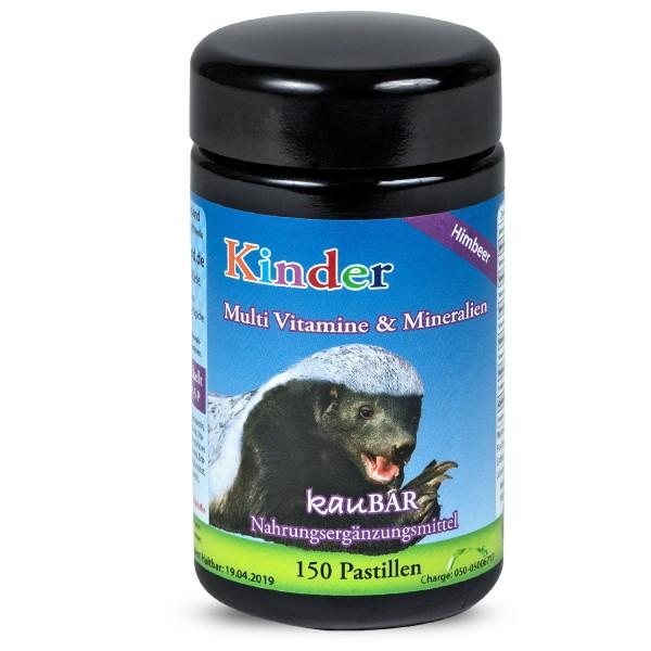 Robert Franz - Kinder Multi Vitamine und Mineralien (150 Pastillen)