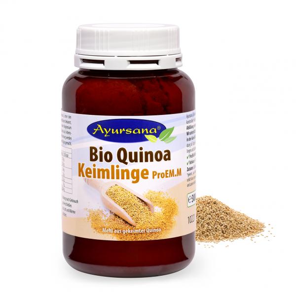 Ayursana - Bio Quinoa gekeimt und gemahlen Rohkost (300 g)