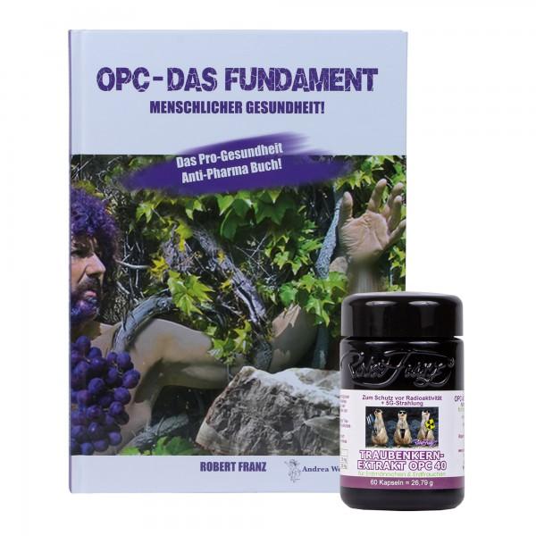 """Robert Franz - Set OPC-Kapseln (60 Stück) + Buch """"OPC - Das Fundament Menschlicher Gesundheit!"""""""