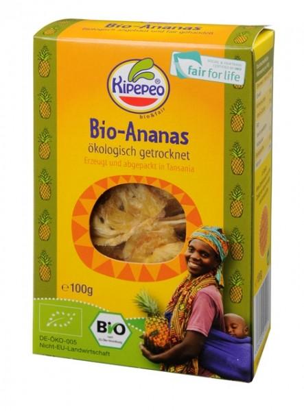 Bio & Fair Ananas von Kipepeo - Rohkost 100 g