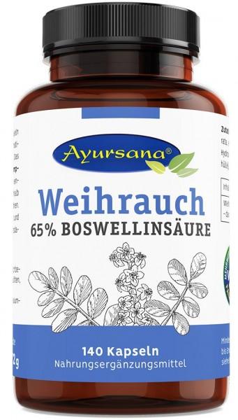 Ayursana - Weihrauchkapseln Boswellia serrata (140 Stück)