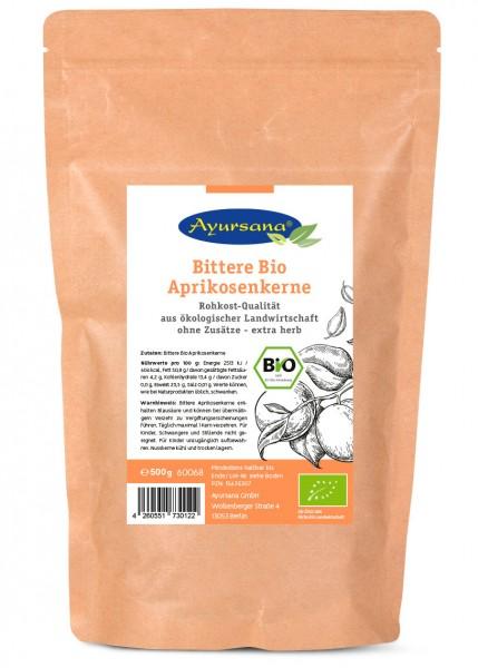 Ayursana - Bittere Bio Aprikosenkerne (500 g)