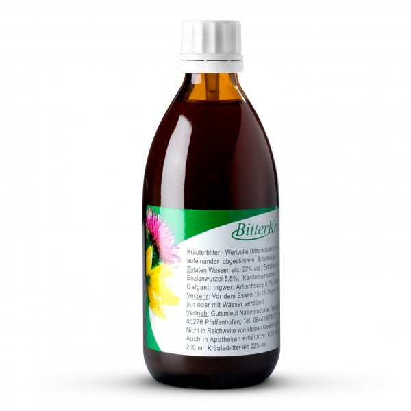 Gutsmiedl Hildegard-Produkte - BitterKraft! Original  (200 ml)