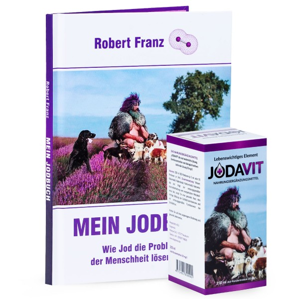Robert Franz - Set Jodavit (250 ml) + Mein Jodbuch