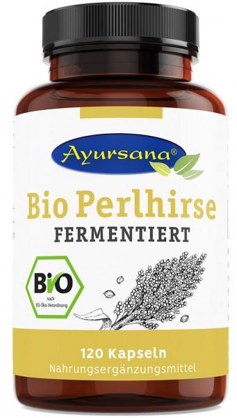 Ayursana - Bio Perlhirse-Kapseln gekeimt (120 Stück)