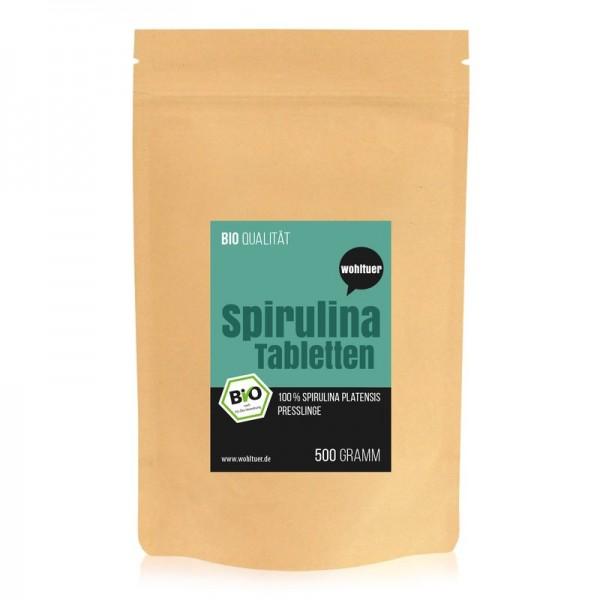 Wohltuer - Bio Spirulina Tabletten (500 g)