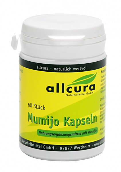Allcura - Mumijo Kapseln (60 Stück)