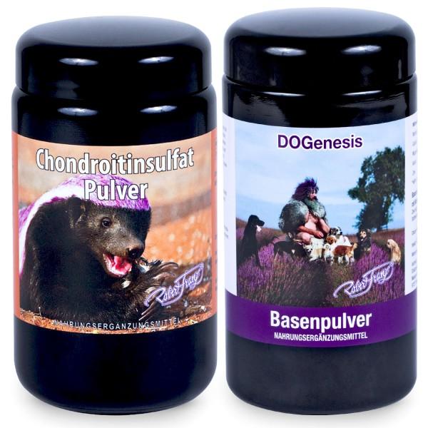 Robert Franz - Set DOGenesis Basenpulver + Chondroitinsulfat Pulver
