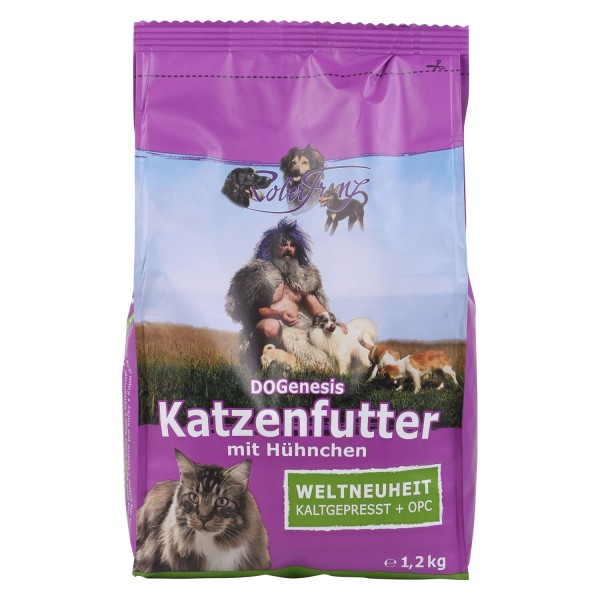Robert Franz - DOGenesis Katzenfutter mit OPC (1,2 kg)