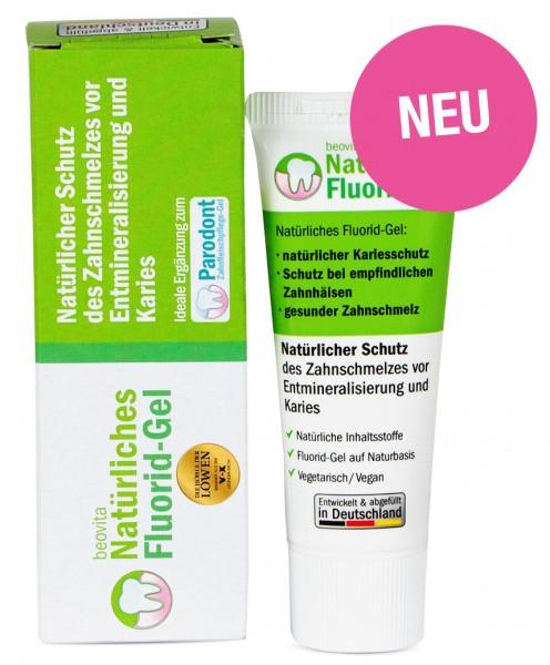 Natürliches Fluorid-Gel - Zahngel - (25 ml) - Bekannt aus Höhle der Löwen