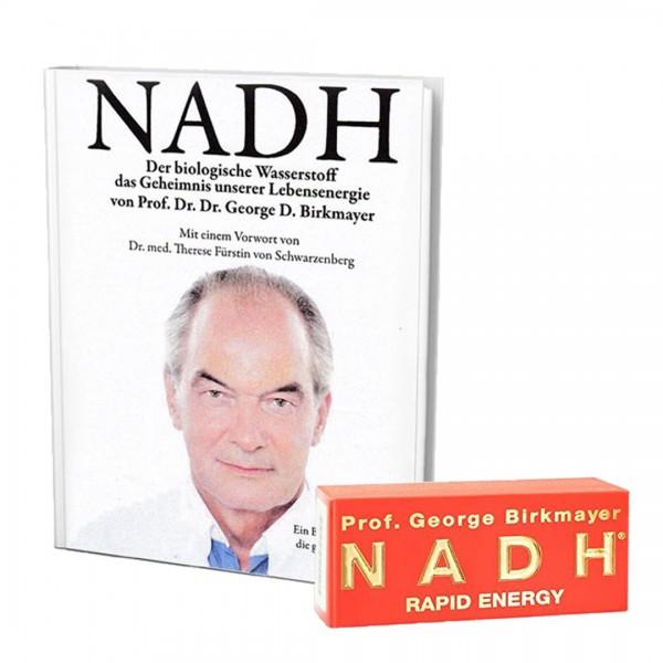 Prof. George Birkmayer NADH - Rapid Energy + Buch