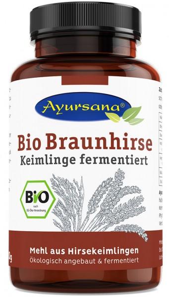 Ayursana - Bio Braunhirse Keimlinge fermentierte (300 g)