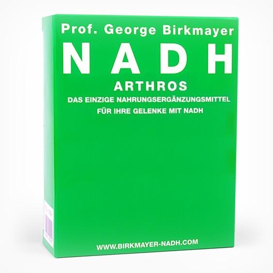NADH – Athros mit Glucosamin, Chondroitin und MSM für die Gelenke (60 Kapseln)